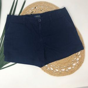 Polo Ralph Lauren Girls Classic Chino Shorts Sz 12